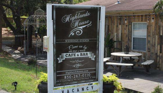 Santa Rosa Beach Highlands House 30a food and wine