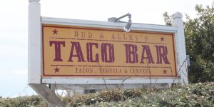 Seaside Bud Alleys Taco Bar 30a food and wine