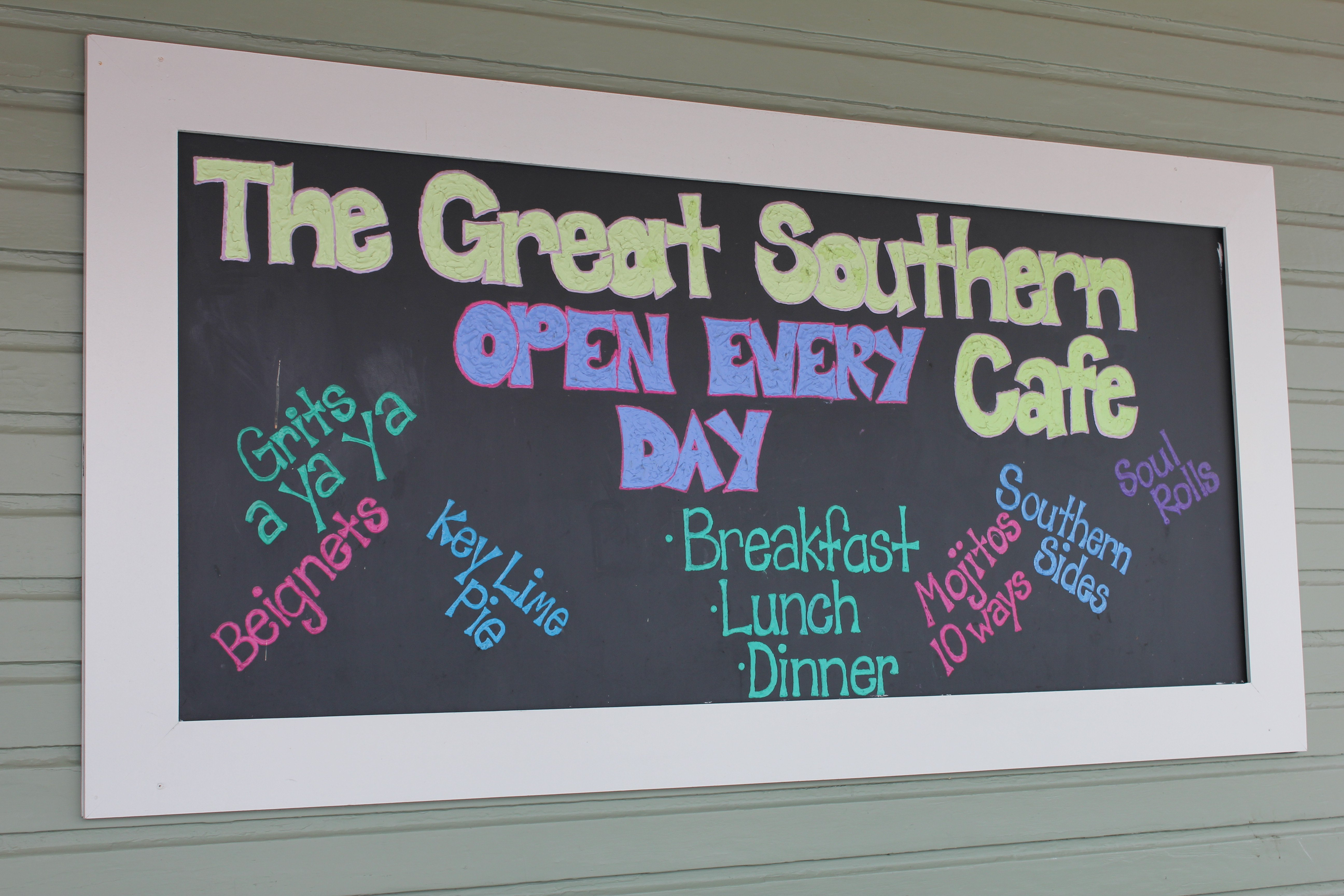 Seaside The Great Southern Cafe 1 30a food and wine