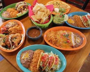 Just a few of the options diners will find at La Cocina in Seacrest Beach.