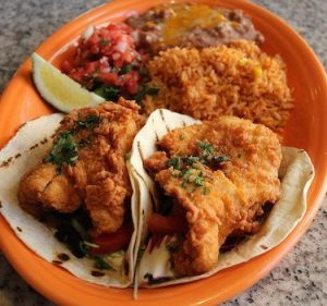 Fish Tacos- One of the most popular items on the menu at La Cocina in Seacrest Beach.