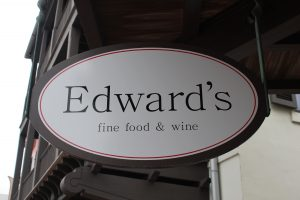 Be sure and sample the small plates this weekend at Edward's in Rosemary Beach