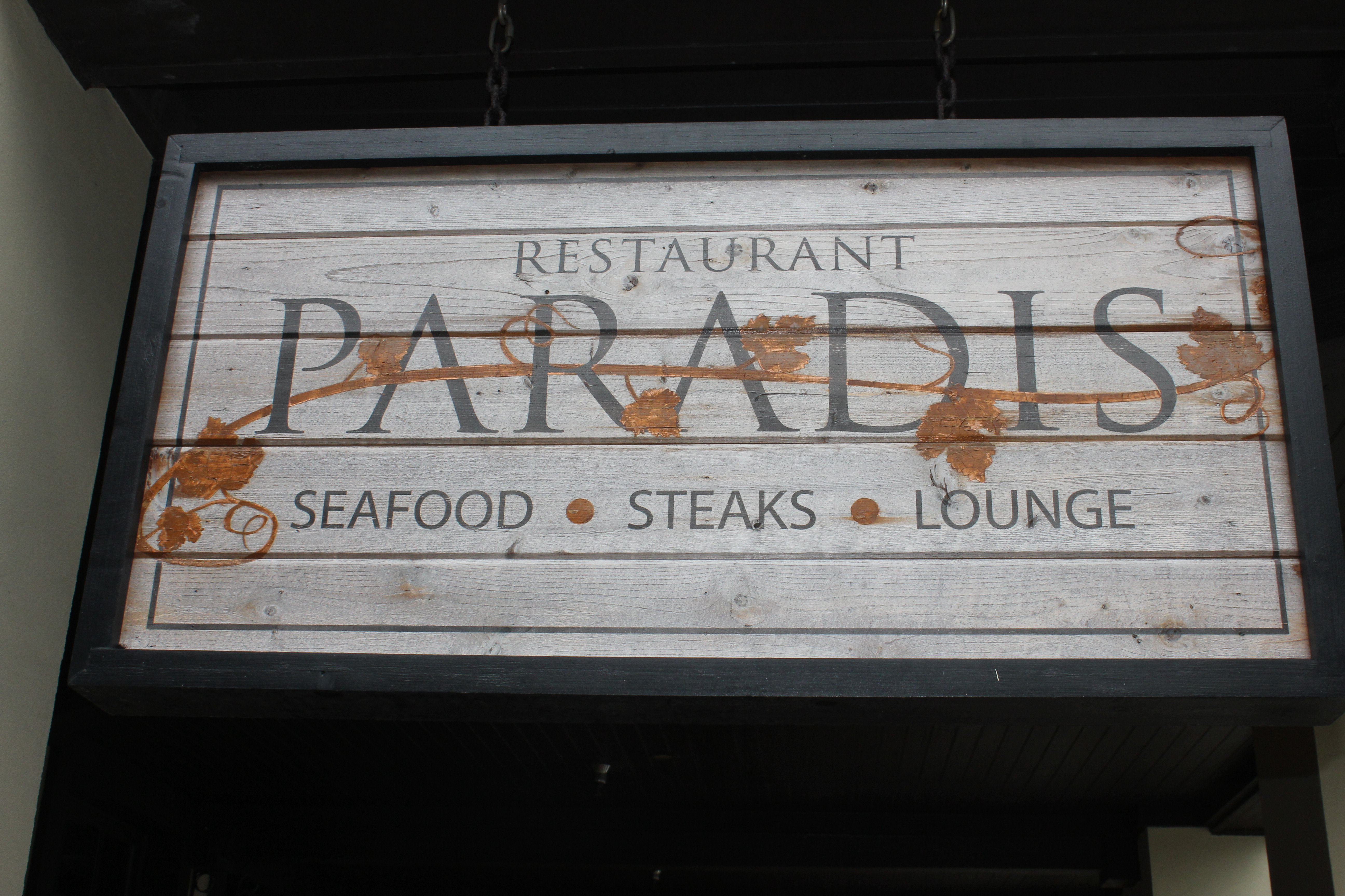 Paradis 30a Food And Wine