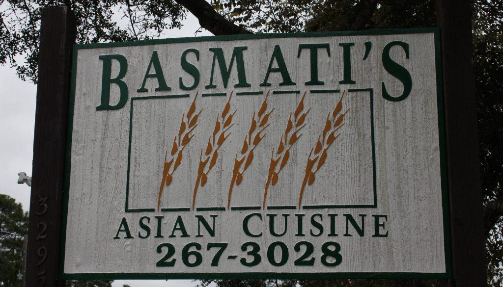 Santa Rosa Beach Basmatis Asian Cuisine 30a food and wine