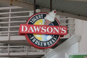 Stop by Dawson's this weekend for a 1/2 lb fudge free with the purchase of 1 lb.