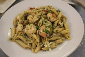 Summer Kitchen's Shrimp and Penne Saute'