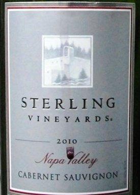 Sterling Vineyards Cabernet