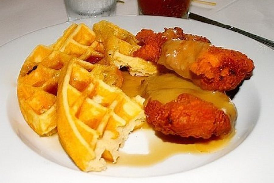 Chicken and waffles 30afoodandwine1