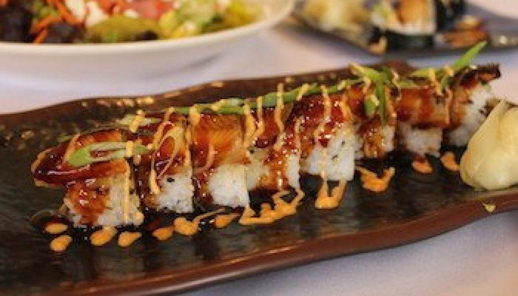 Marie's-Bistro-Black-Dragon-Roll-Sushi-30afoodandwine