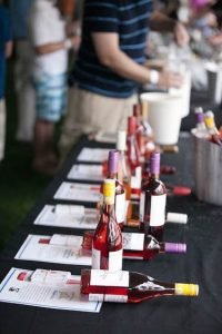 With numerous wines to choose from, there is something for everyone at this year's festival.