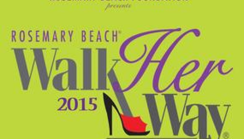 Rosemary Beach Walk her way 30afoodandwine