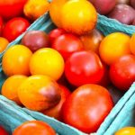 Seaside Farmers Market Heirloom tomatoes