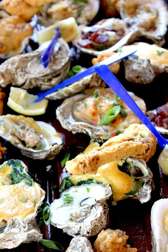 Dishes of 30a oyster log lowdown 30a food and wine for Stinkys fish camp