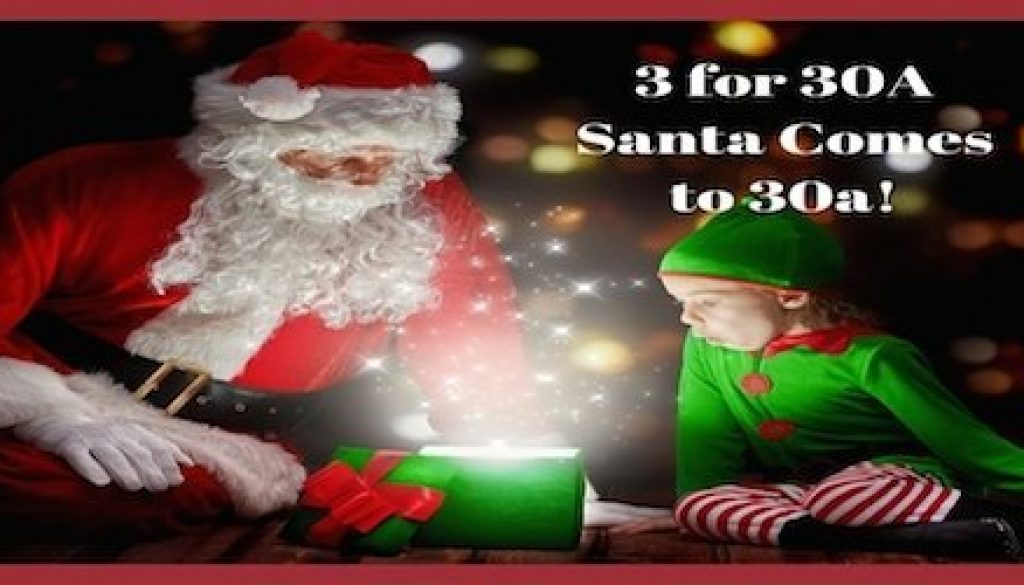 3 for 30ASanta Comes to 30a reduced size