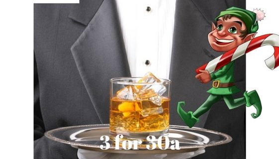 3 for 30a Black Tie Dinners and Elf Rides
