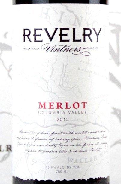 Revelry Vintners 2013 Merlot
