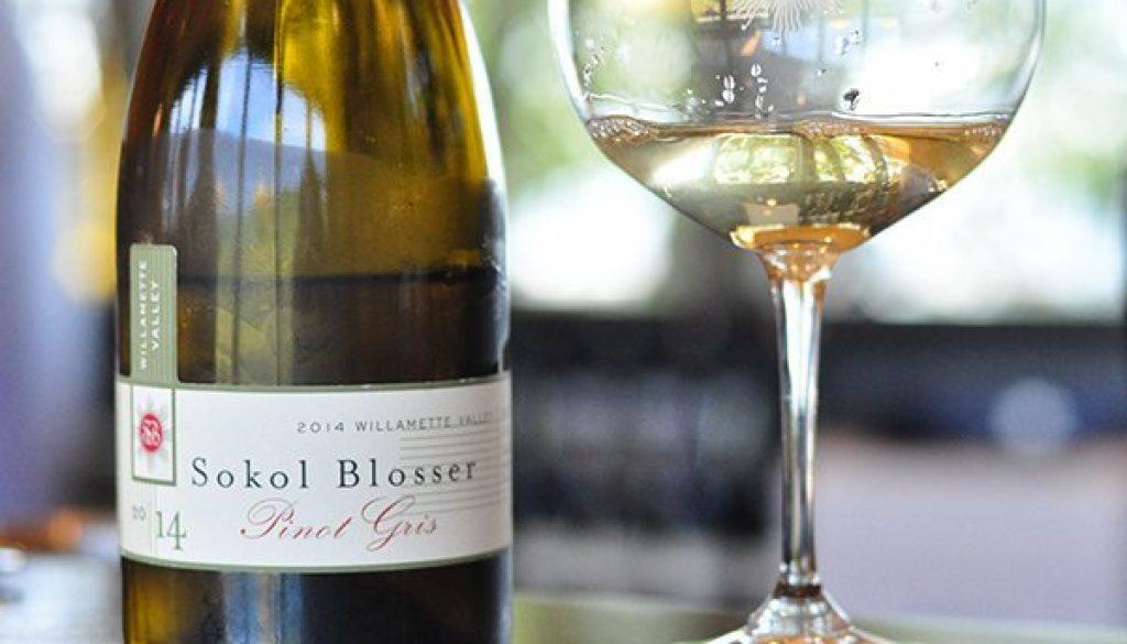 2014 Sokol Blosser Pinot Gris 30afoodandwine