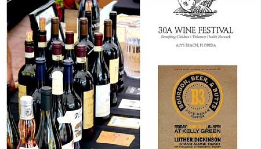 30a Wine Festival at Alys Beach 30afoodandwine