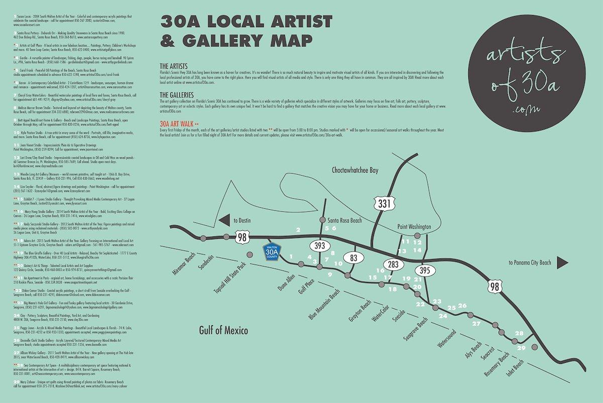 Art Walk 3 for 30a