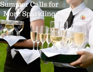Wine Wednesday- Summer Calls for More Sparkling