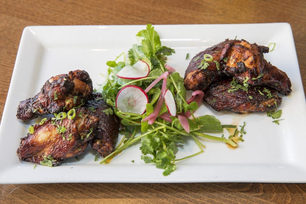 The Achiote Fried Wings at La Cocina Mexican Grill & Bar