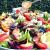 Stone Fruit Summer Salad with Roasted Shallot Vinaigrette