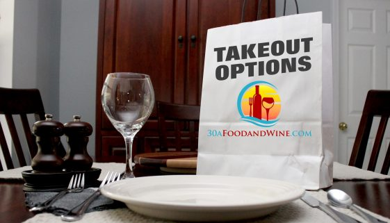 30A Food & Wine Takeout Options