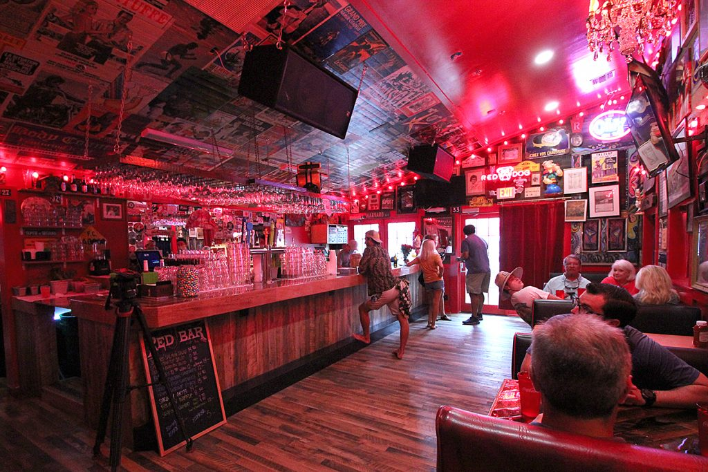 The Red Bar bar room