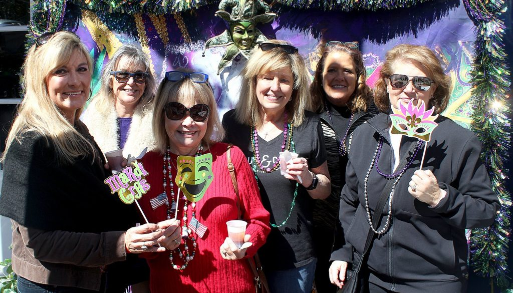 Mardi Gras photo op