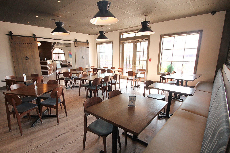 Revamped dining room